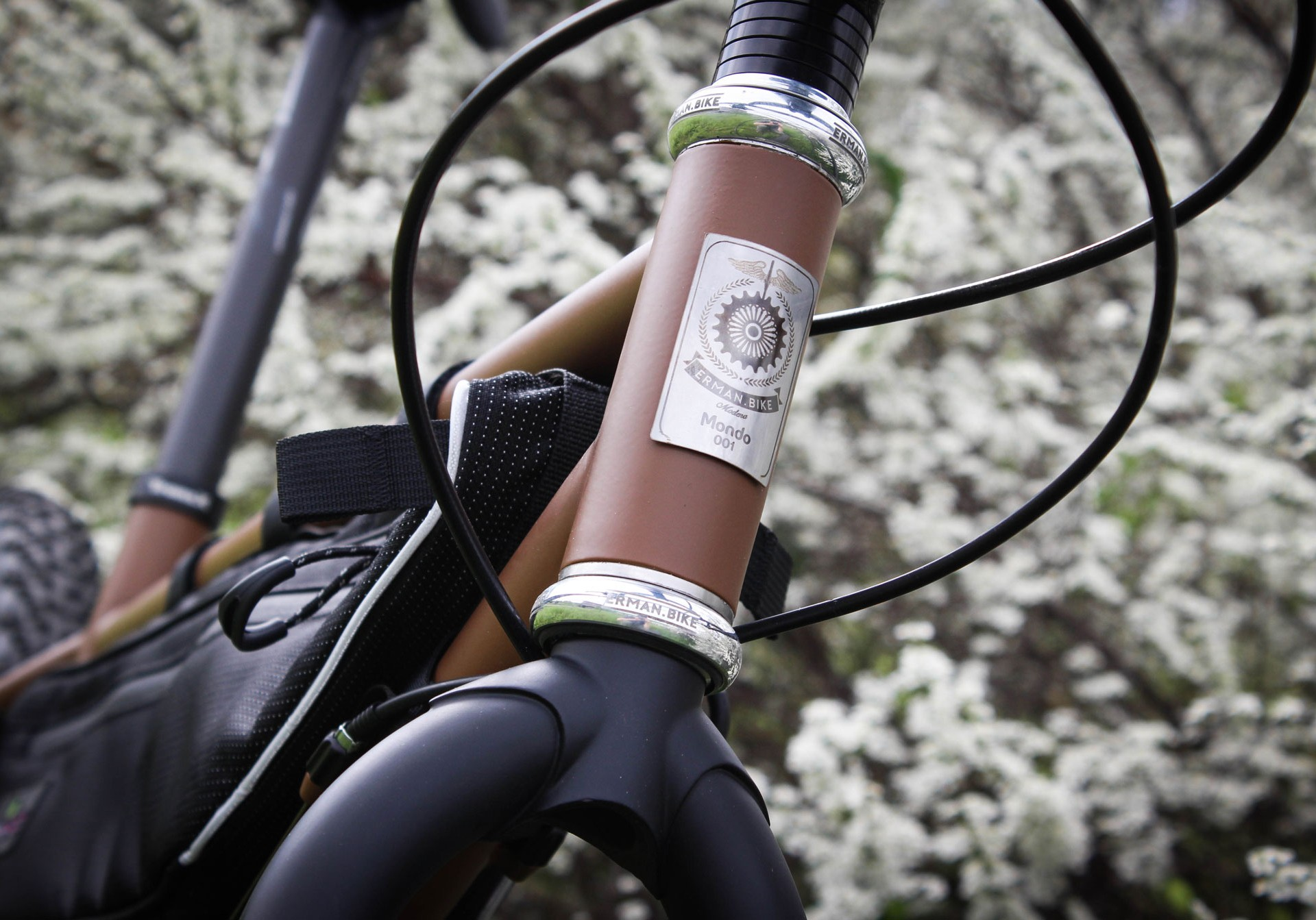 mondo adventure bikepacking handmade bicycle by erman.bike modena