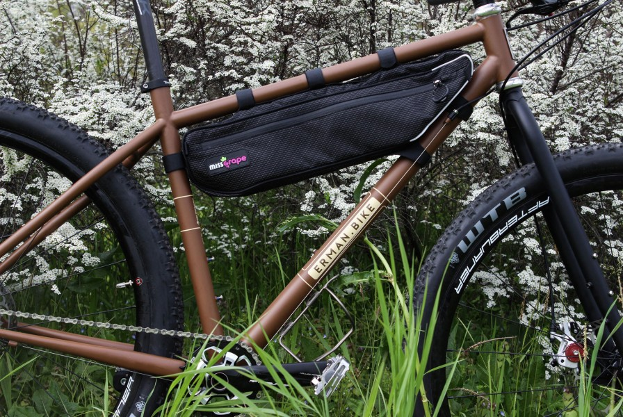 mondo adventure bikepacking handmade bicycle by erman.bike modena