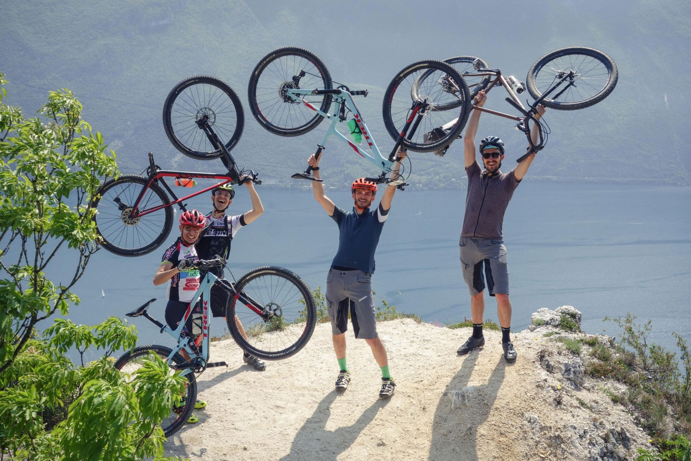 erman bike goes to riva bike festival 2016