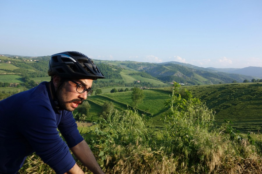 sunset ride 5 erman bike modena